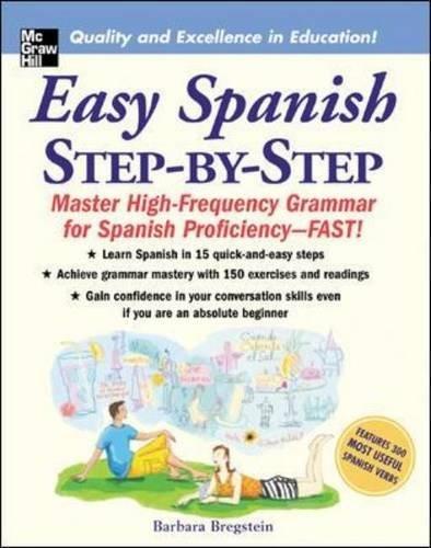 Easy Spanish Step-By-Step [Barbara Bregstein] (Tapa Blanda)