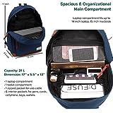 Laptop Backpack, Waterproof School Backpack With