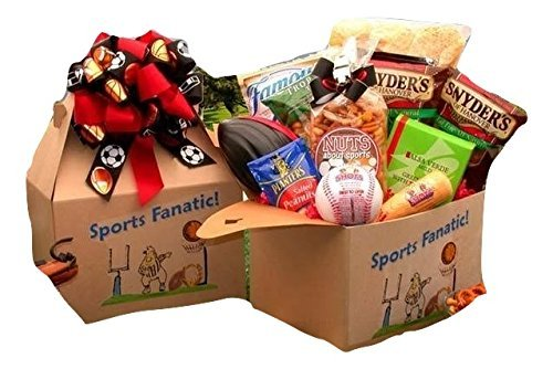 For the Sport Lover - Gift Box for Fathers Day, Birthday, Christmas or Any Occasion