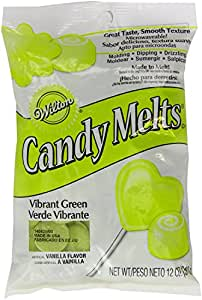 Wilton Candy Wafer Melts, Vibrant Green