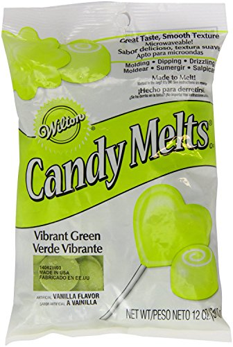 Vibrant Green Candy Melts