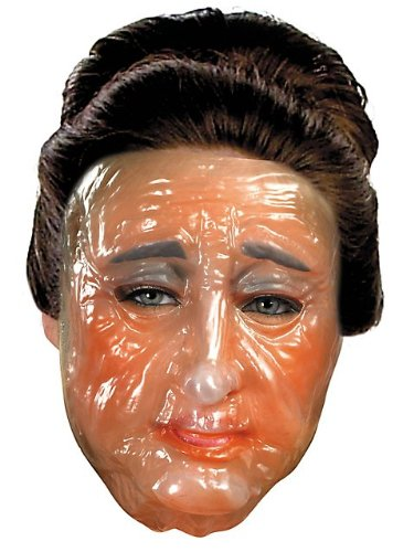 Transparent Old Women Mask - Female Mask For Sale