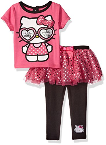 Hello Kitty Baby Girls' 2Pc Tee and Skegging