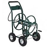 300 Ft Garden Water Hose Reel Cart Heavy Duty offers