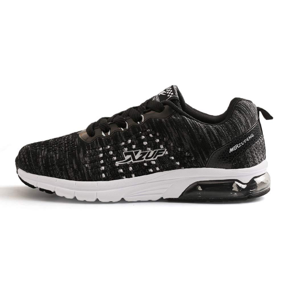 Damen Turnschuhe fallen neue Luftkissen Schuhe Knit Fitness Laufschuhe atmungsaktiv Leichtathletik Turnschuhe Damen Sport und Outdoor-Schuhe (Farbe   EIN Größe   35)