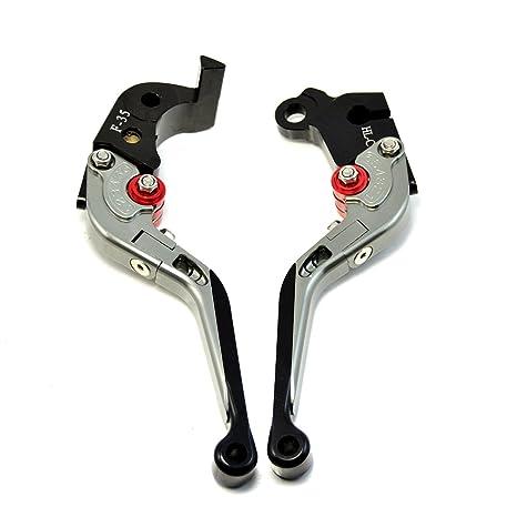 Palancas de freno y embrague pleglables y extensibles de alta calidad para motocicleta, CNC para
