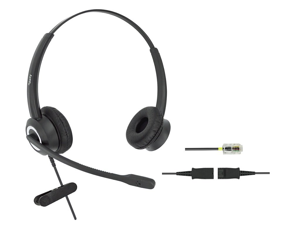 DailyHeadset Corded Office Telephone Headset Headphones with RJ9 Cable for  Cisco IP Phone 7940 7942 7960 7962 8811 8841 8845 8851 8861 8961 9951 M12