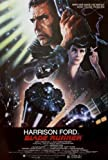 "Vintage Harrison Ford ""Blade Runner"" Large Movie Poster"