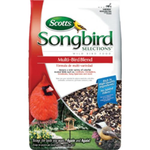 Scotts Songbird Wild Bird Multi Bird Blend Seed 6 Pound Pack Of 6 - 1022683