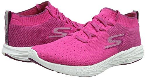 Fitness Pour De Skechers rose 15209 Femme Chaussures Rose v6pxE