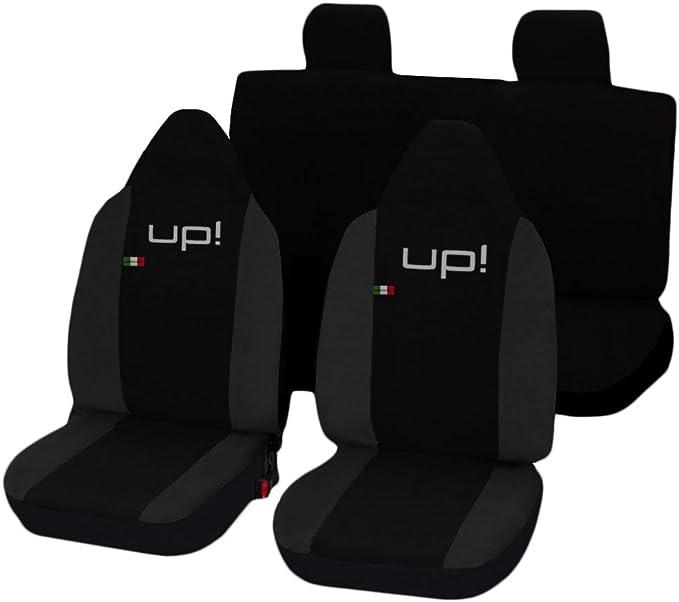 Lupex Shop Up N Gs Sitzbezüge Schwarz Dunkelgrau Auto