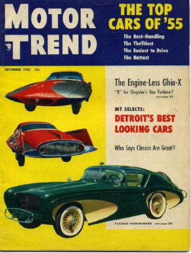 Motor Trend September 1955 '55 Packard 400, Studebaker for sale  Delivered anywhere in USA