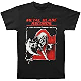 metal blade records t shirt - Metal Blade Records Men's Old School Reaper T-shirt XX-Large Black