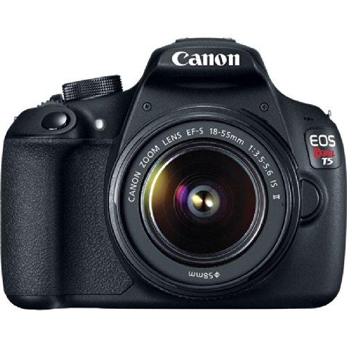 Canon EOS Rebel T5 18MP DSLR Camera EFS 18-55mm & EF 75-300mm Four Lens Ultimate Bundle