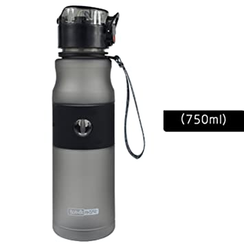 Moolecole Agua Taza Adulto Estudiante Deportes Agua Botella Plástico Portable Mano Taza Aptitud Jeta Con Paja