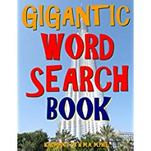 Gigantic Word Search Book: 133 Extra Large Print Puzzles