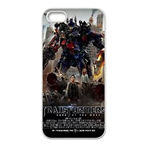 Transformers Dark Of The Moon Movie 13 iPhone5s Cell Phone Case White DIY Ornaments xxy002-3640043