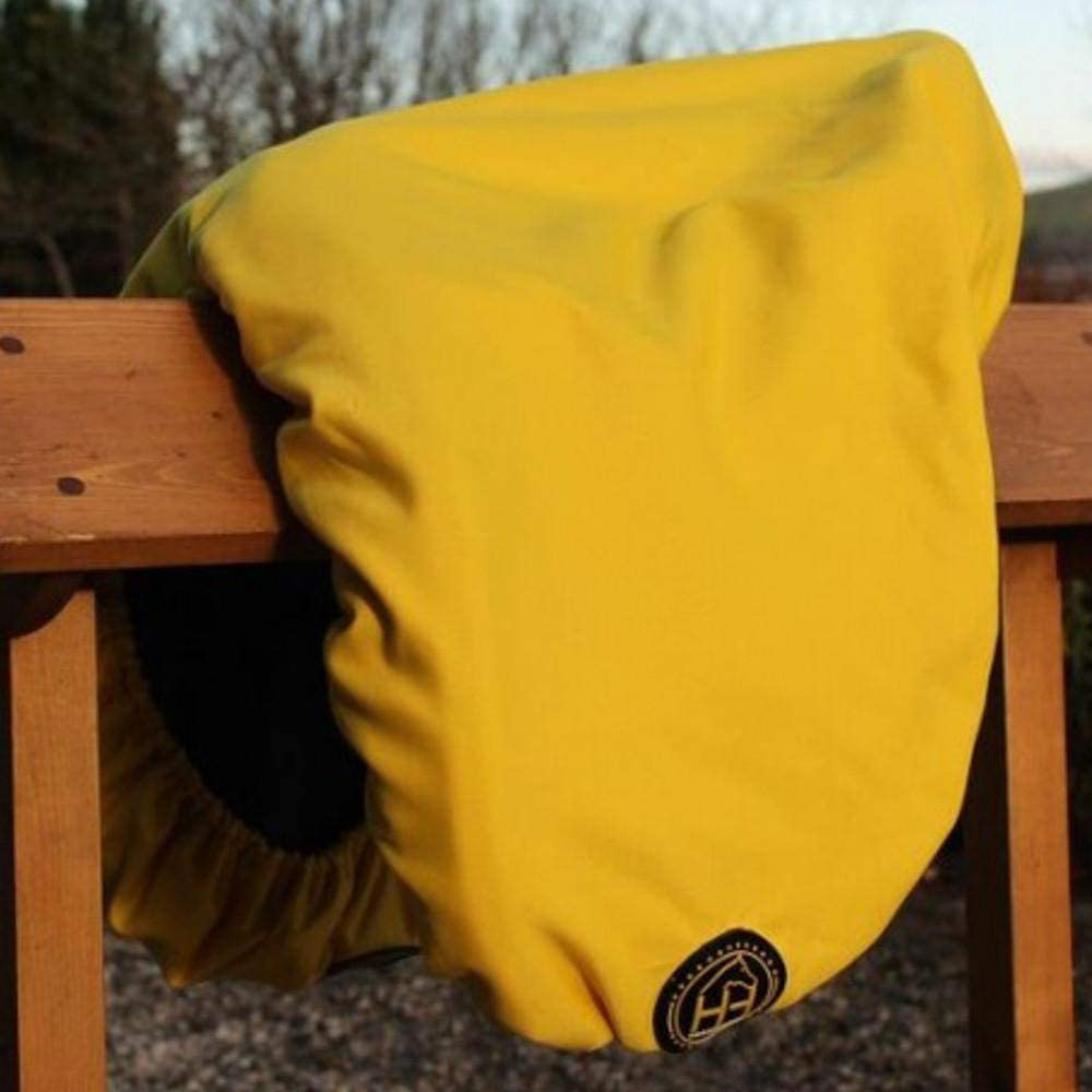Multiple Colors Available HorzeHoods Dressage Saddle Cover w//Fleece Lining