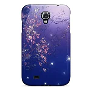 High Grade MeSusges Flexible Tpu Case For Galaxy S4 - Help To Light The Moon