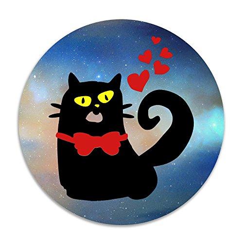 [ALIPAPA Home Furnishing Laundry Black Kitty Cat Vector Art NonSlip Rug White] (Dance Moms Reused Costumes)
