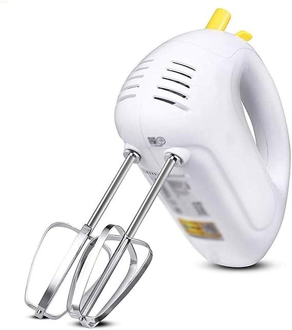 NA ECSWP Bata Blanca, Mini batidora eléctrica 5 Ajustes de