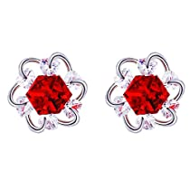 Xuping Thanksgiving Luxury Flower Shade Earrings Crystals from Swarovski Charm Black Friday Jewelry Gifts