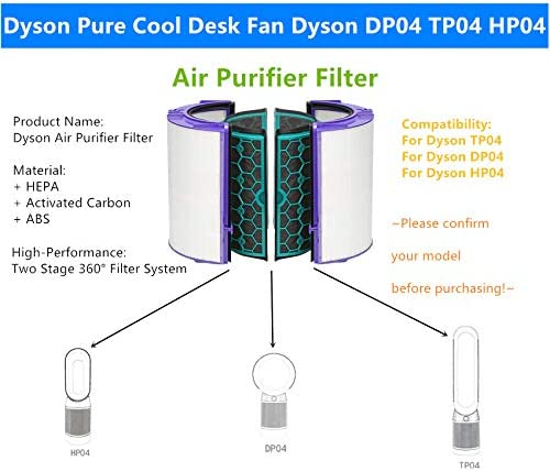 Sweet D Purificador de Aire Dyson DP04 TP04 HP04 Pure CoolTM ...