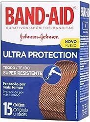 Curativos Adesivos Ultra Protection, Band-Aid, 15 Unidades