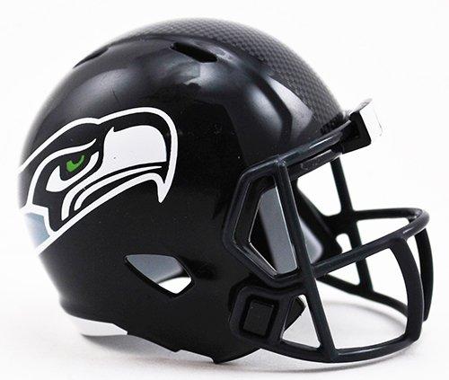 Helmet Seattle Seahawks Football (SEATTLE SEAHAWKS NFL Riddell Speed POCKET PRO MICRO/POCKET-SIZE/MINI Football Helmet)