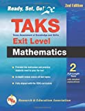 Texas TAKS Exit-Level Mathematics, Research & Education Association Editors, 0738604445
