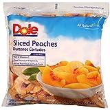 Dole Frozen Peach Slices, 5 lb. (2 count)