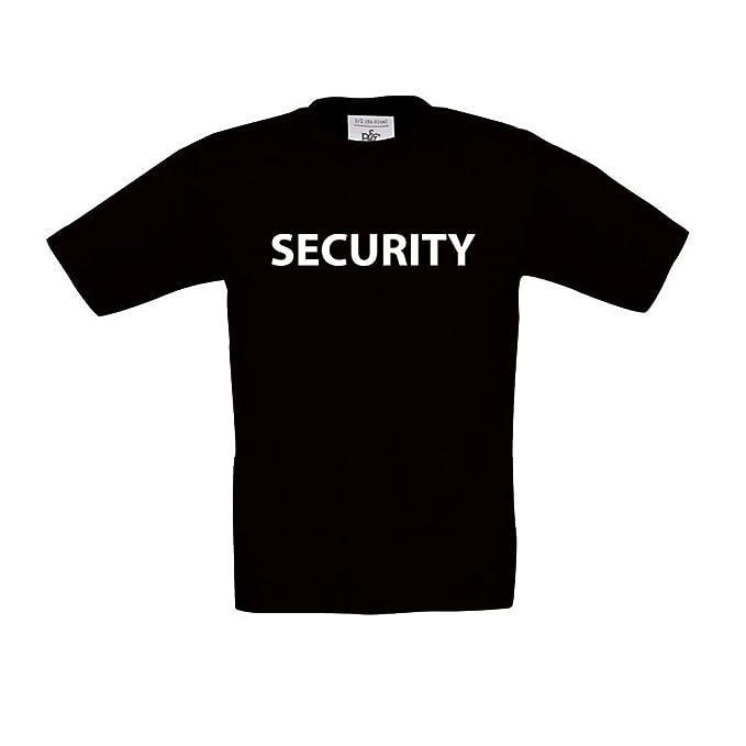 cre9tive Camisetas Security, - Camiseta Infantil, Unisex: Amazon.es: Ropa y accesorios