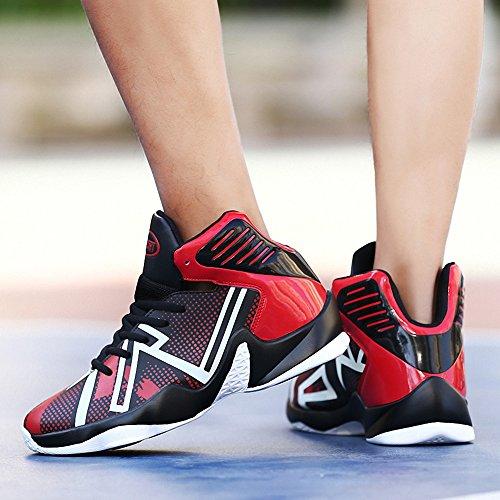 Rot2 Basketball Schuhe Sneakers Outdoor Ausbildung Turnschuhe Weweya Herren v1xq018