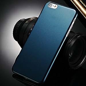 "300 Pcs/lot Fashion Metallic paint Hard Case For iPhone 6 Plus 5.5"" Inch Hard Phone Back Cover Plastic Edge Wholesale DHL --- Color:black"