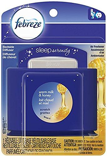 Febreze Set & Refresh Sleep Serenity Warm Milk & Honey 1 Reusable Unit