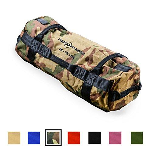 Rep Fitness Sandbag - Medium, Camo, 25-75 lbs (Camo Sand)