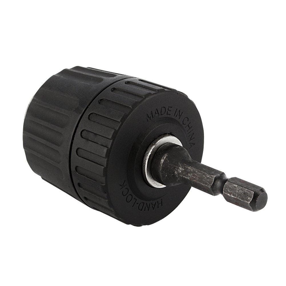 1//4 Hex Adaptor Impact Drivers Yosoo Drill Keyless Chuck Plastic Sleeves 0.8-10mm 3//8-24UNF