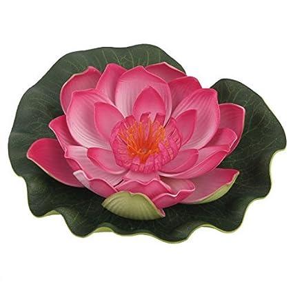 Amazon.com : eDealMax Rosa Verde ornamento planta emulational peces ...