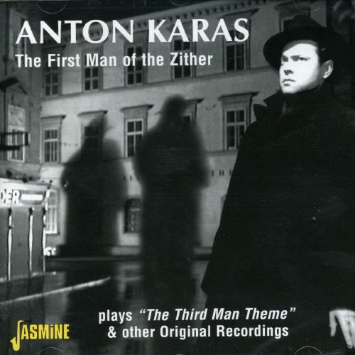 The First Man of the Zither Anton Karas Plays The Third Man Theme Audio CD