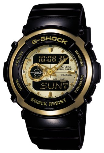 CASIO G SHOCK STANDARD Treasure G 300G 9AJF
