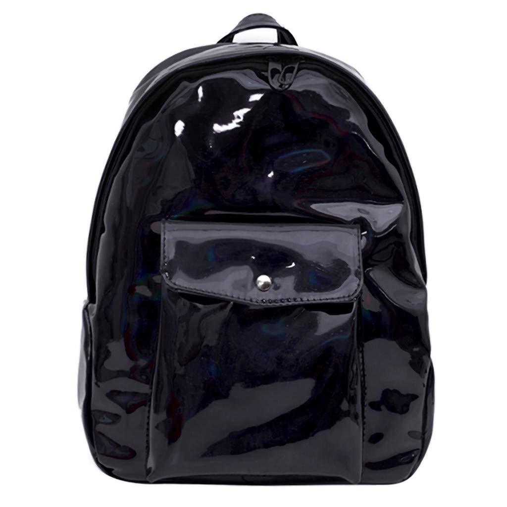 DENER❤️ Women Ladies Laser Backpack Rucksack Weekender Bags Travel Bags School Bags Designer Shoulder Bag Satchel Bags