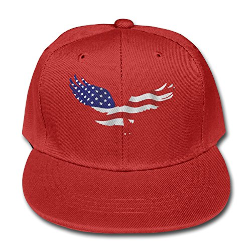 Eagle USA Flag Kids Adjustable Baseball Hat