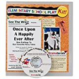 Once upon a Happily Ever After : New Endings to Our Favorite Fairy Tales: School Theater Kit, Akselrad, January, 0985767618