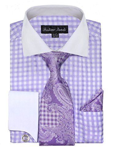 dress shirts with contrasting cuffs - 6
