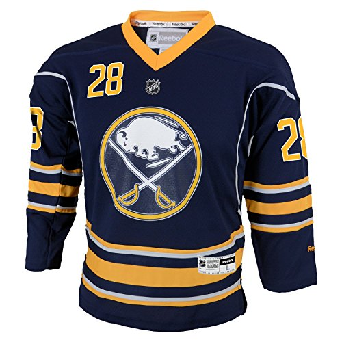 OuterStuff NHL Buffalo Sabres Boys Team Replica Player Jersey, Large/X-Large, Navy