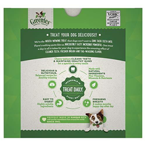 Greenies Original Petite Natural Dental Dog Treats, 36 oz. Pack (60 Treats)