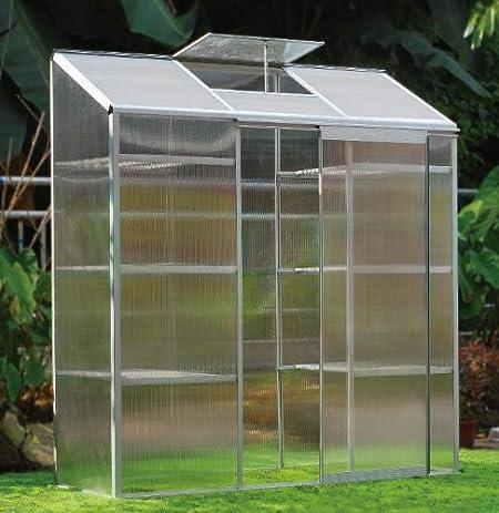 sow n reap 6u0027 x 2u0027 lean to greenhouse