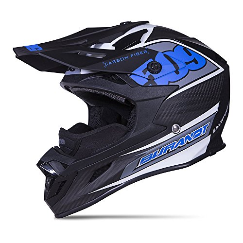 509 Altitude Carbon Fiber Chris Burandt Snowmobile Helmet - Open Face - Lightweight (X-Small to...