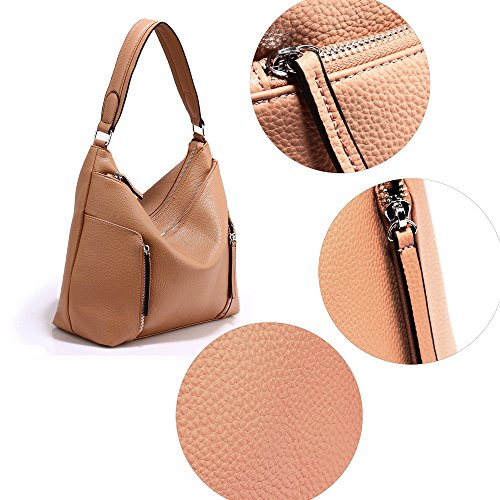 Shoulder Fashion Ladies Nude Fashion Hobo Ladies LnB AG00529 LnB Bag 6xI4WWqF0w