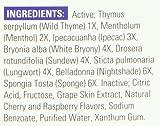 NatraBio Childrens Cough Syrup, Liquid, Yummy Cherry-Berry Flavor, 4 Fluid Ounce (120 ml)